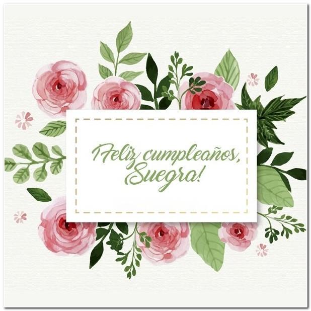 Frases de cumpleaños para mi suegra